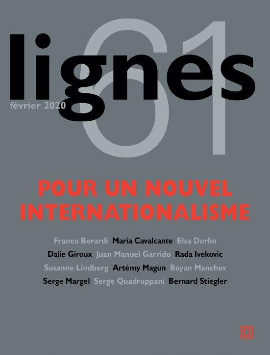 REVUE LIGNES N.61  -  POUR UN NOUVEL INTERNATIONALISME