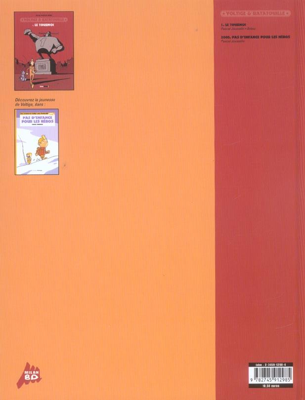 Voltige et Ratatouille t.1 ; le tournoi