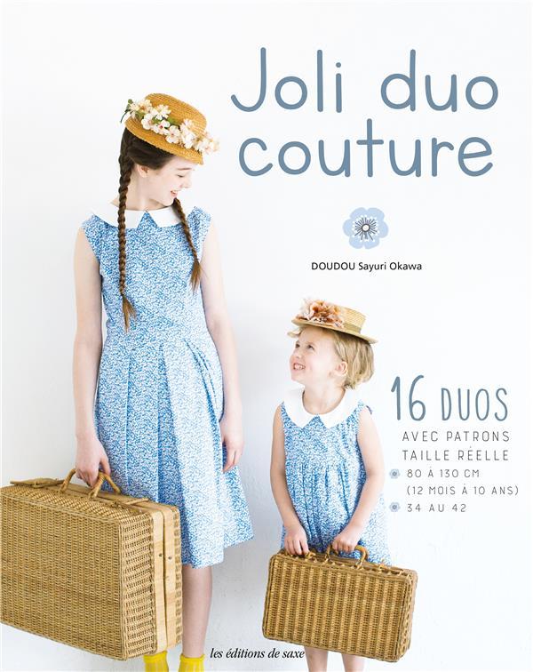 joli duo couture mère - fille
