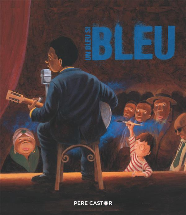Un bleu si bleu