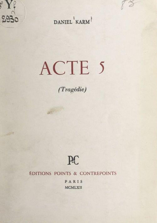 Acte 5