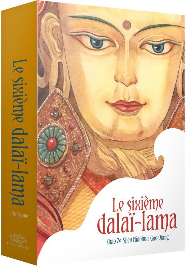Le sixième Dalaï-Lama ; coffret Intégrale t.1 à t.3