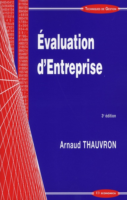 évaluation d'entreprise (3e édition)
