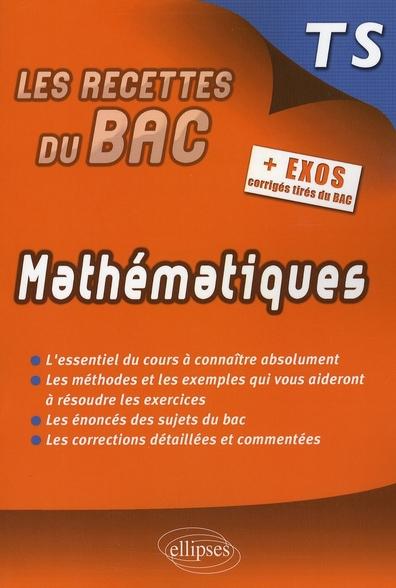 Mathématiques ; terminale S
