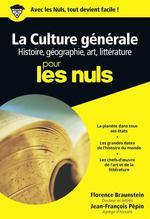 Couverture de La culture générale pour les nuls t.1 ; histoire, géographie, art, littérature