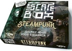Escape box ; steampunk