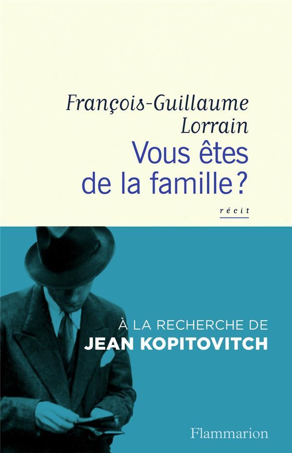 Vous êtes de la famille ? à la recherche de Jean Kopitovitch