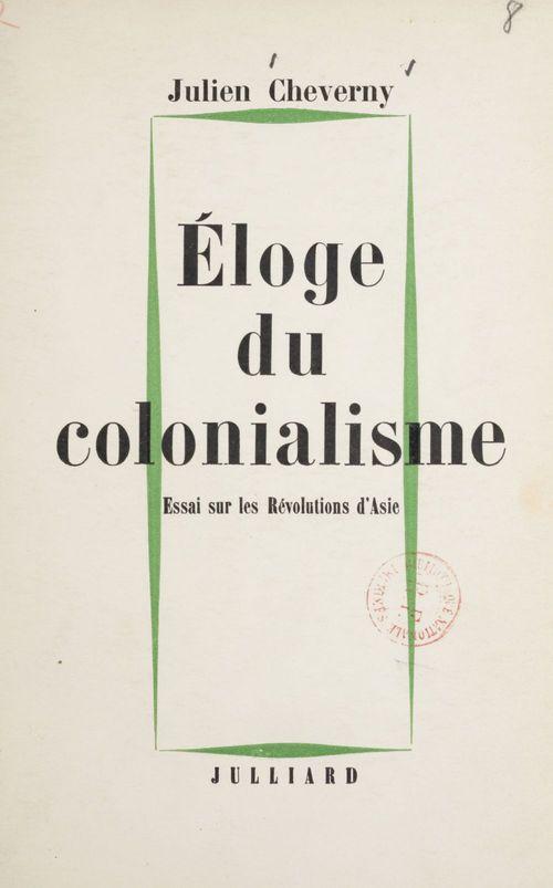 Éloge du colonialisme