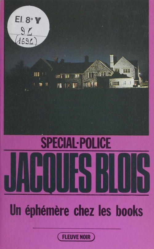 Spécial-police : Un éphémère chez les books