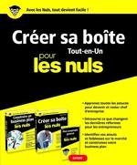 Vente Livre Numérique : Créer sa boîte pour les nuls  - Laurence De Percin - Jean-Yves EGLEM - Amine CHELLY - Emmanuel FRÉMIOT