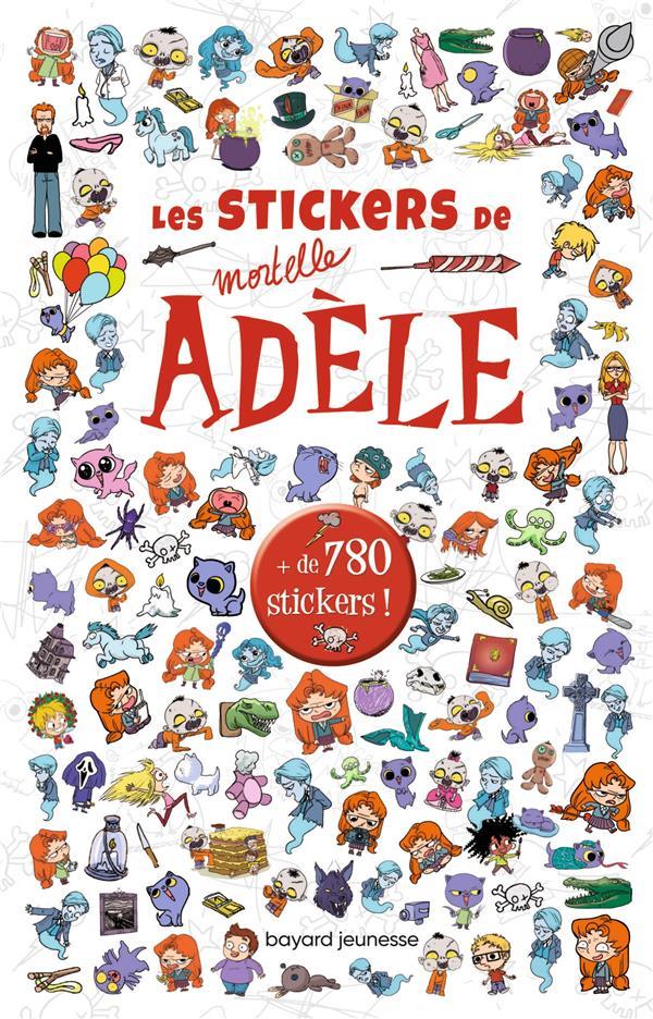 Les stickers de mortelle Adèle