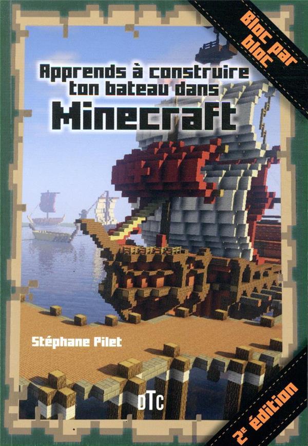 Apprends à construire ton bateau avec Minecraft