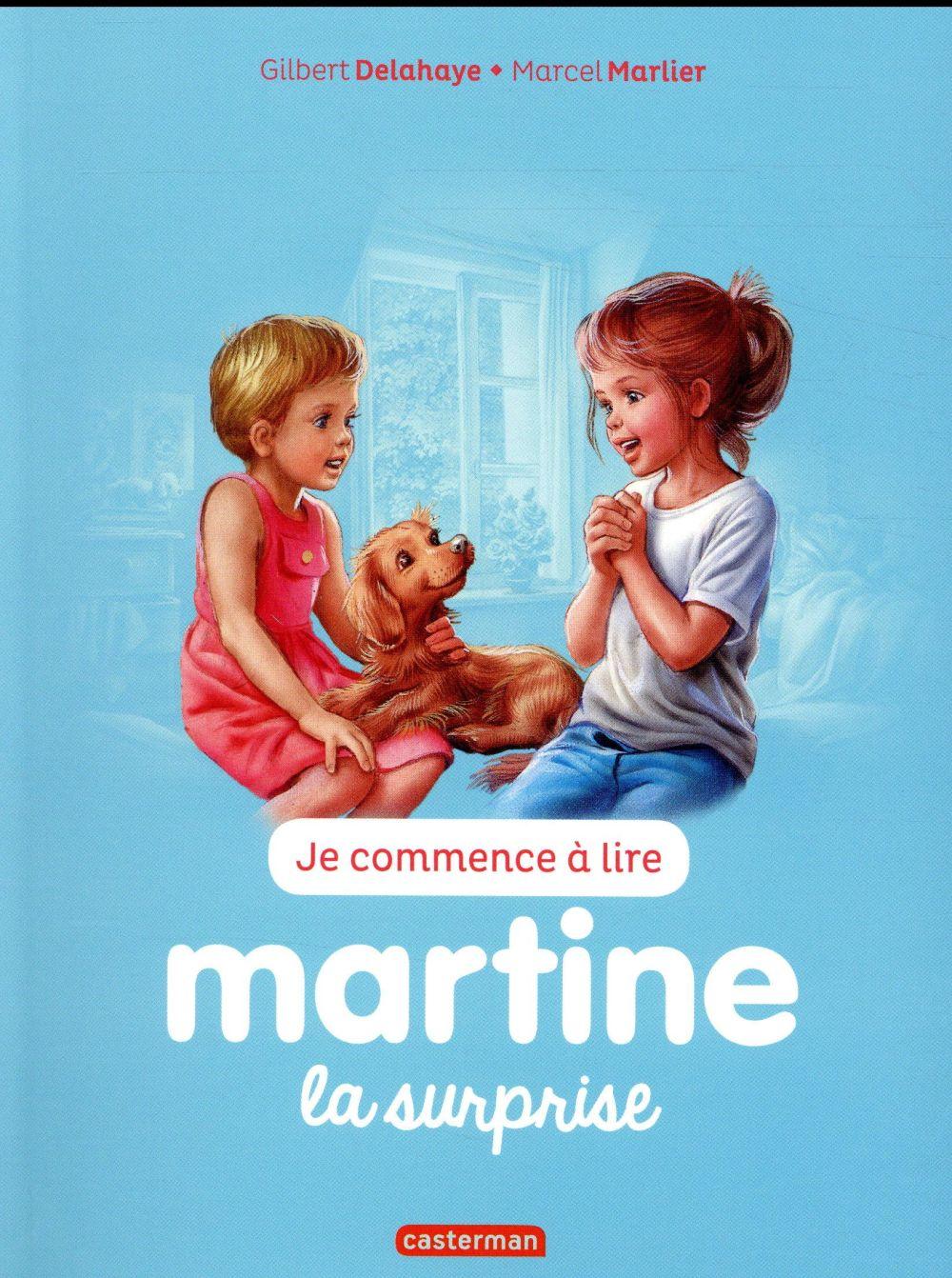 Je commence à lire avec Martine T.37 ; la surprise