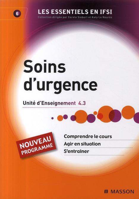Soins D'Urgence - Ue 4.3 - Tome 6