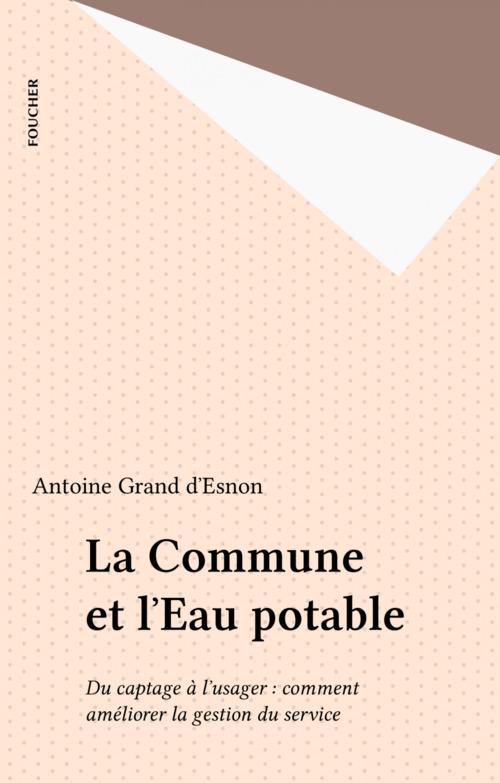 La Commune et l'Eau potable