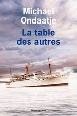 Vente Livre Numérique : La table des autres  - Michael Ondaatje