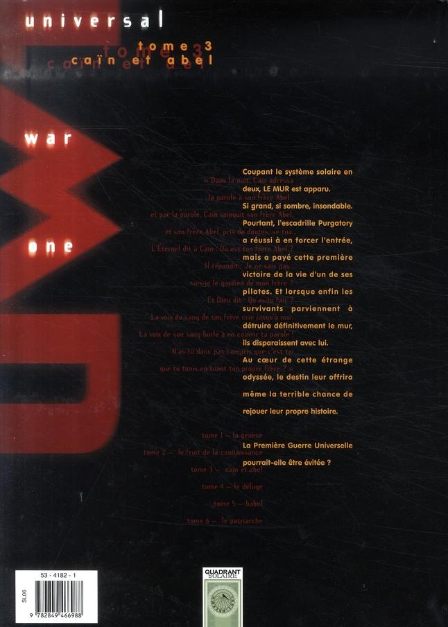 Universal war one t.3 ; Caïn et Abel