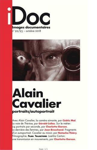 Images documentaires n.92/93 ; Alain Cavalier ; portraits/autoportrait