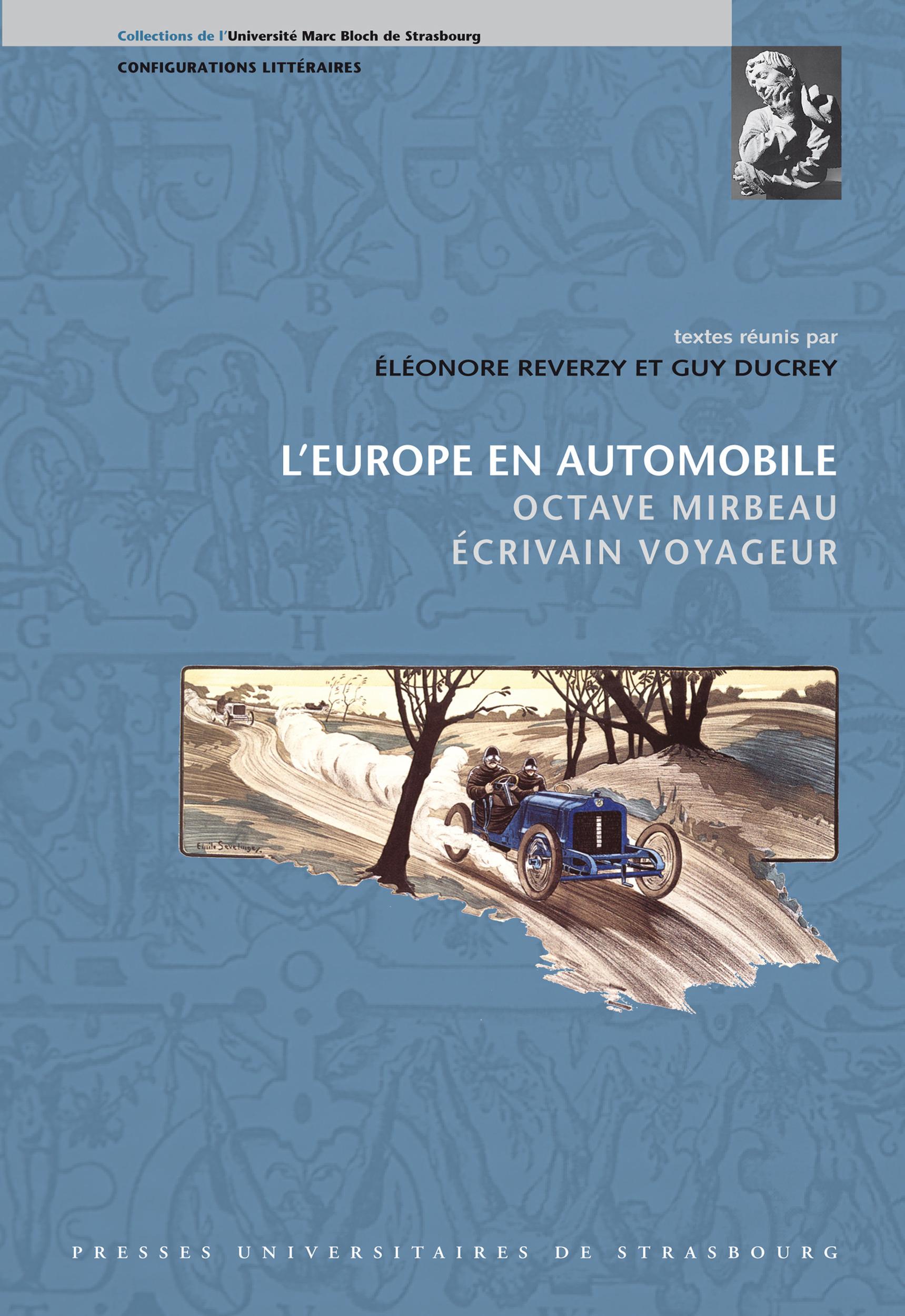 l'Europe en automobile ; Octave Mirbeau ; écrivain voyageur