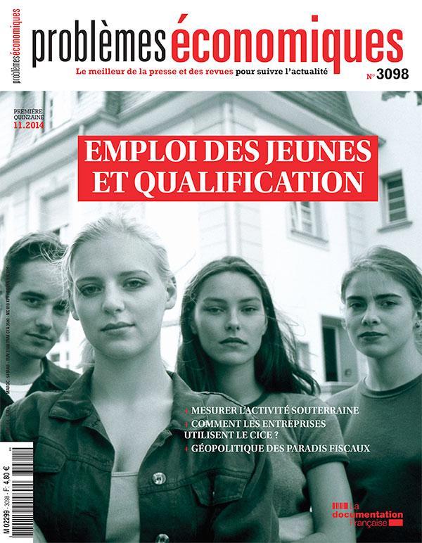 Problemes Economiques T.3098; Emploi Des Jeunes Et Qualification