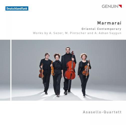Maramarai, Musique contemporaine d'Orient : oeuvres de Sezer, Pinscher, Saygun. Asasello.