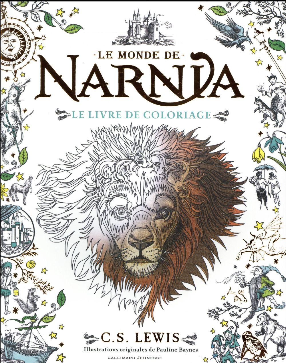 Le monde de Narnia ; le livre de coloriage
