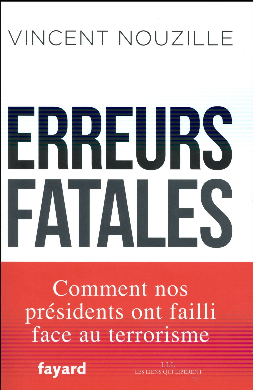 Erreurs fatales