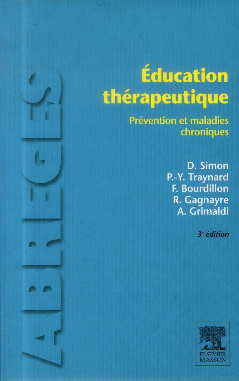 éducation thérapeutique (3e édition)