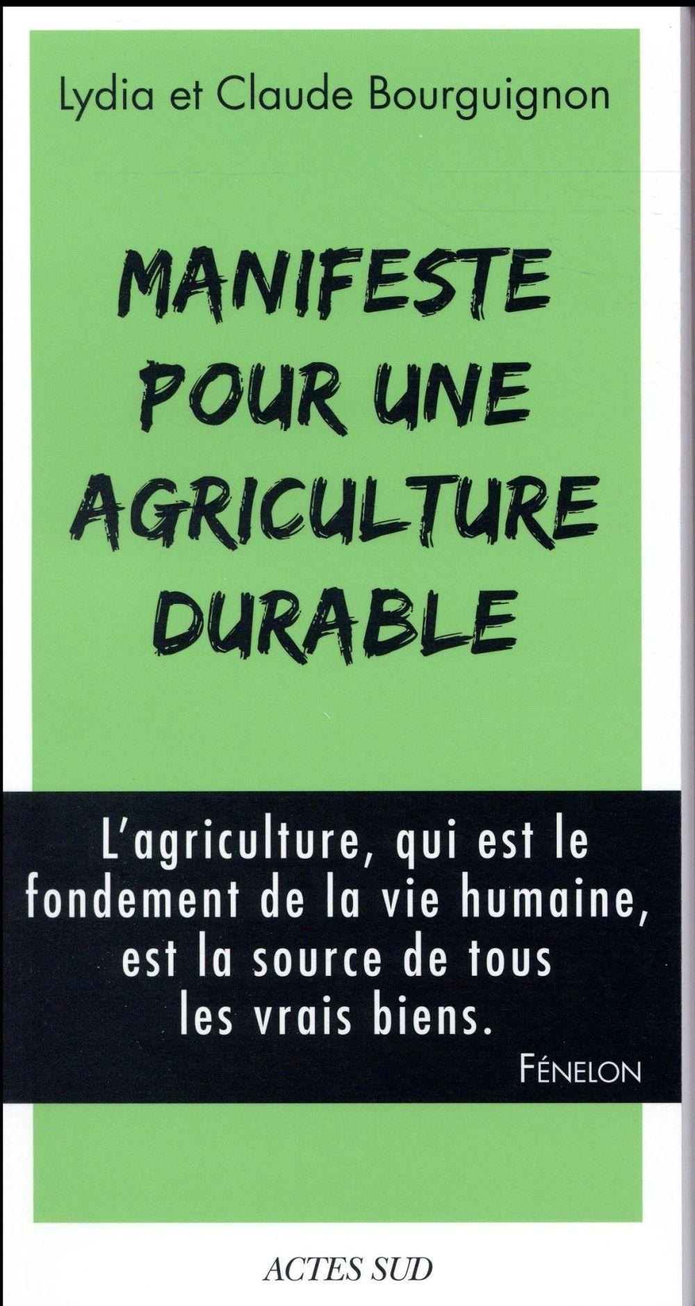 Manifeste pour une agriculture durable