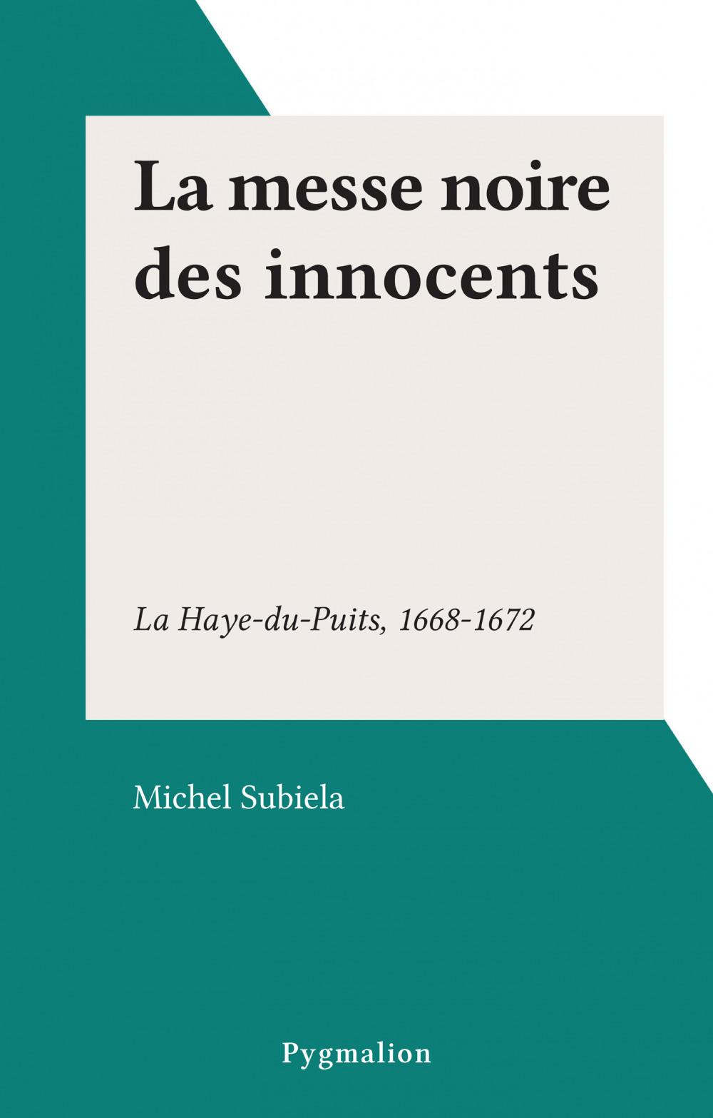 La messe noire des innocents