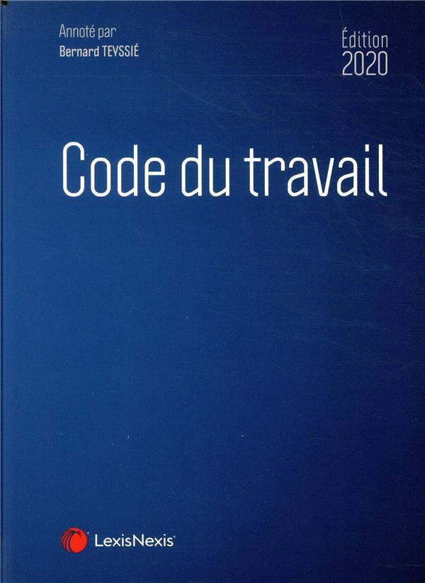 Code du travail (édition 2020)