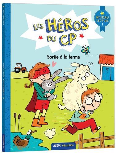 Les héros du CP ; sortie à la ferme