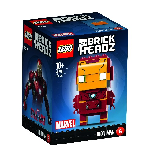 LEGO Brickheads Iron Man