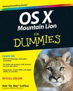 Vente Livre Numérique : OS X Mountain Lion For Dummies  - Bob LEVITUS
