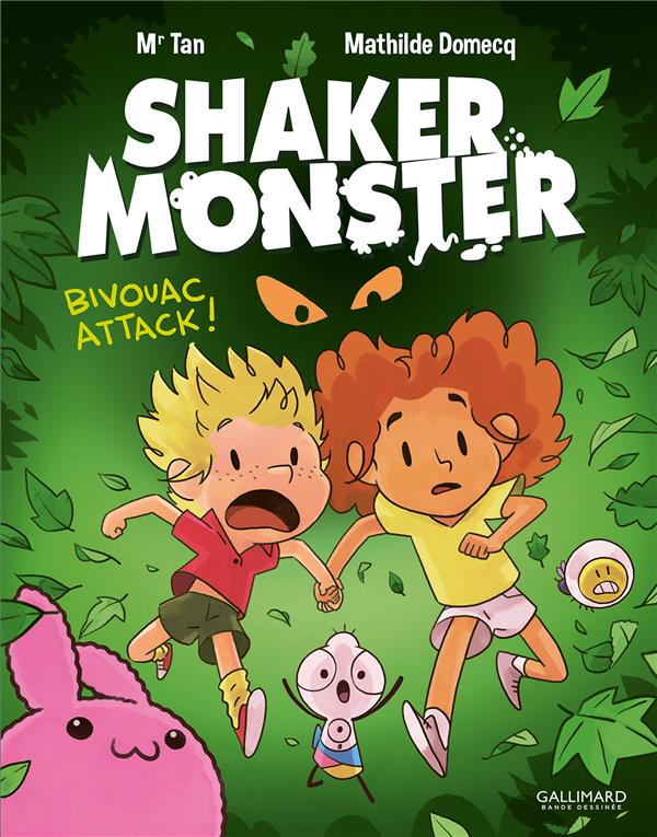 Shaker monster T.4 ; bivouac attack !