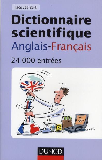 Dictionnaire Scientifique Anglais-Francais ; 24 000 Entrees (4e Edition)