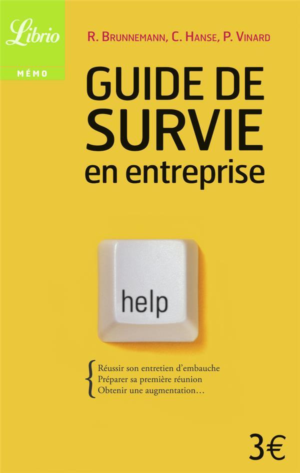 Guide de survie en entreprise