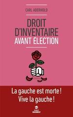 Vente Livre Numérique : Droit d'inventaire avant élection  - Carl Aderhold
