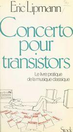 Vente EBooks : Concerto pour transistors  - Éric Lipmann