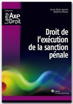 Droit de l'exécution de la sanction pénale