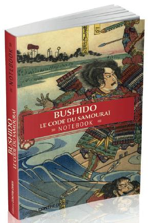 Bushido ; le code du samouraï ; notebook