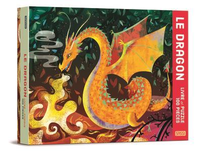 Le dragon ; livre et puzzle de 100 pièces