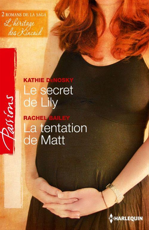 Le secret de Lily - La tentation de Matt  - Rachel Bailey  - Kathie DeNosky