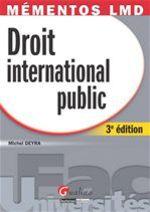 Vente Livre Numérique : Droit international public - 3e édition  - Michel Deyra