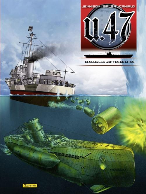 U.47 T.13 ; sous les griffes de la SS