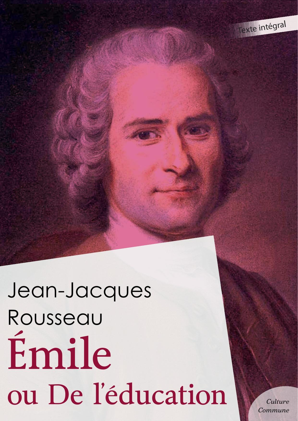 Émile ou De l´éducation