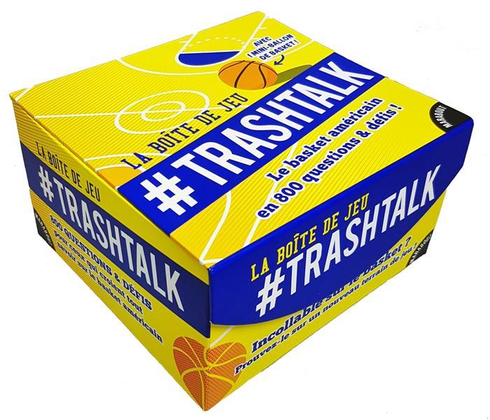 La boîte de jeu #trashtalk - le basket americain en 800 questions et défis !
