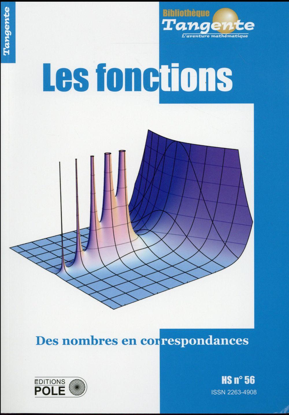 Les fonctions ; des nombres en correspondance