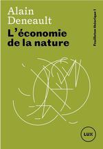 Couverture de L'économie de la nature