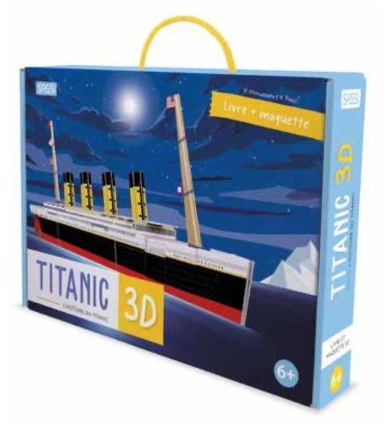 Voyage, découvre, explore ; le Titanic 3D ; l'histoire du Titanic